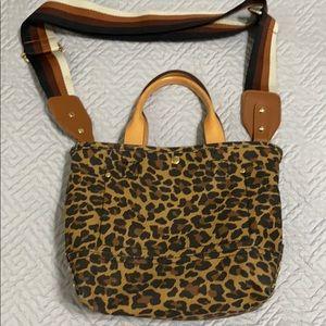Jcrew Leopard Purse